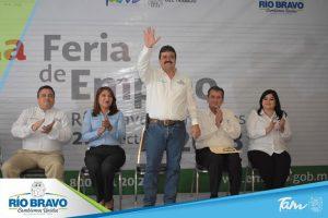 Primera Feria de Empleo Río Bravo 2018.