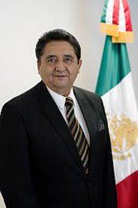 El Cónsul de México en McAllen, Texas Eduardo Guadalupe Bernal Martínez.
