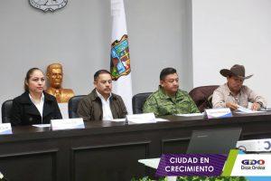 Reunión previa a la Instalación del Consejo Municipal de Protección Civil.