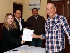 Entrega de nombramientos a Sub-delegados en Camargo.