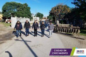 Banderazo de arranque a las labores de Limpieza en Díaz Ordaz.