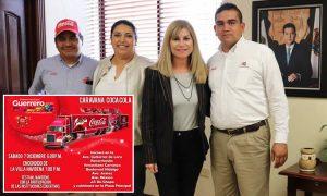 Este 7 de Diciembre, Guerrero disfrutará de la Caravana Coca Cola.